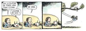 #vidacheiadevida