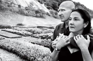 Sebastião Salgado e Lélia Wanick Salgado (Foto: Ricardo Beliel)