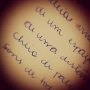 Da série: Eu não tenho sorte no amor, por isso escrevo...