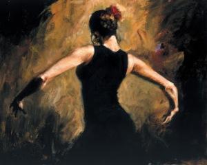 Eu tocando cajon e tu dançando flamenco  <3